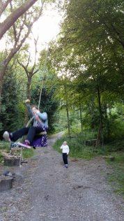 The swing!